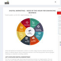 Digital Marketing need of the hour for enhancing business