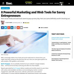 8 Powerful Marketing and Web Tools for Savvy Entrepreneurs