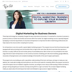 Digital marketing course for business entrepreneurs, Digital Marketing for Business Owners