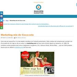 Marketing mix Coca-cola, n°1 dans l'esprit des consommateurs