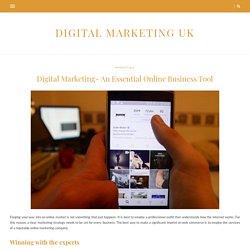 Digital Marketing- An Essential Online Business Tool