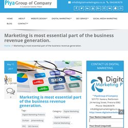 Digital Marketing is most essential part of the business revenue generation.