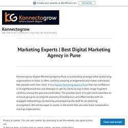 Best Digital Marketing Agency in Pune – Konnectogrow
