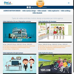 Vidéo marketing, Vidéo explicative, Vidéo dessinée, Agence motion design