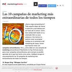 Las 10 campañas de marketing más extraordinarias de todos los tiempos - Marketing Directo
