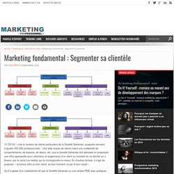 Marketing fondamental : Segmenter sa clientèle