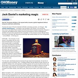 Jack Daniel's marketing magic - Fortune Management - Aurora