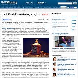 Jack Daniel's marketing magic - Fortune Management - Aurora