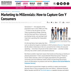 3 Tips for Marketing to Generation Y Consumers