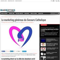 Le marketing généreux du Secours Catholique