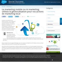 Ressources sur les réseaux sociaux mobiles