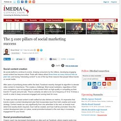 The 5 core pillars of social marketing success (page 2 of 3)
