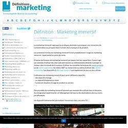 Marketing immersif