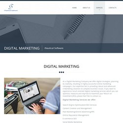 Digital Marketing Company- iNautical Software LLC