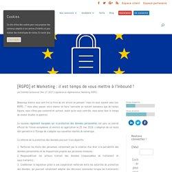 [RGPD] et Marketing : il est temps de vous mettre à l'Inbound ! - Koban SaaS CRM et Marketing Automation pour les PME