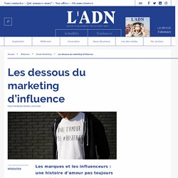 Marketing d'influence - marques et influenceurs