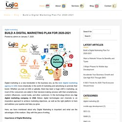 Build a Digital Marketing Plan For 2020-2021