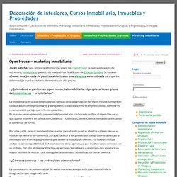 Open House - marketing inmobiliario