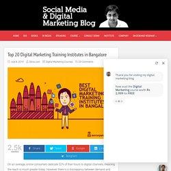 Top Digital Marketing Training Institute in Bangalore