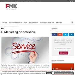 Marketing de Servicios, vender bienes intangibles