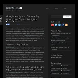 QlikView Marketing Intelligence Blog
