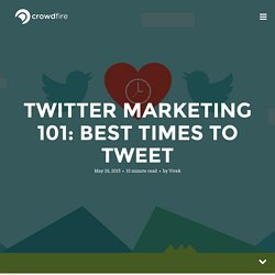 Twitter Marketing 101: Best Times To Tweet