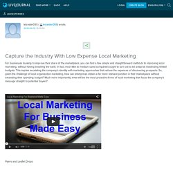 Capture the Industry With Low Expense Local Marketing: leicester055