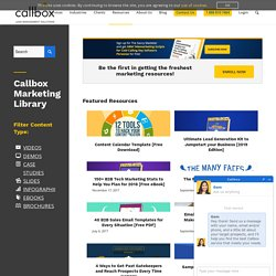 Marketing Library - Callbox - B2B Lead Generation Company
