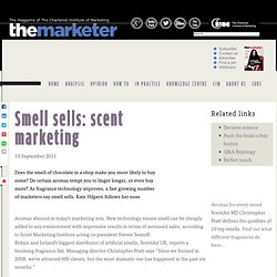 Smell sells: scent marketing
