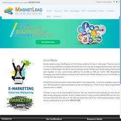 Social Media Marketing by Magnetlead in Ireland