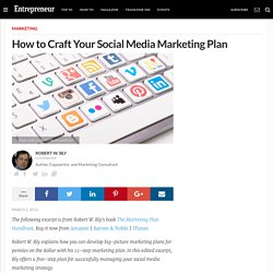 5 Steps to Crafting Your Social Media Marketing Plan #MarketingPlan