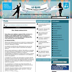 ISEG MCS Lyon - Le blog marketing, marques & innovation