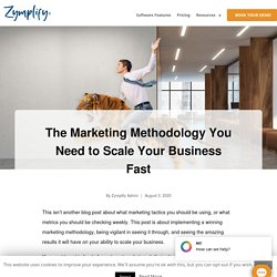 The Marketing Methodology You Need to Scale Your Business Fast