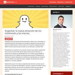 Flu Marketing » Blog Archive » Snapchat: la nueva atracción de los millennials y las marcas