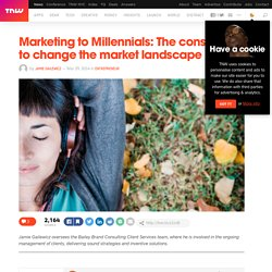 Marketing to Millennials: The consumers to change the market landscape