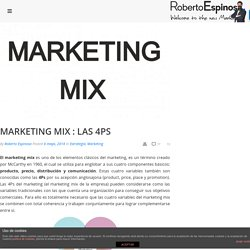 Marketing Mix: Las 4 Ps