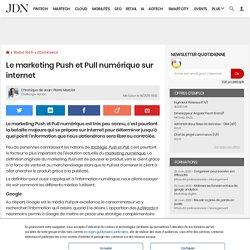 Le marketing Push et Pull numérique sur internet