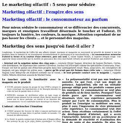marketing olfactif