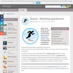 Marketing opérationnel et mix - les 4P, cours et articles