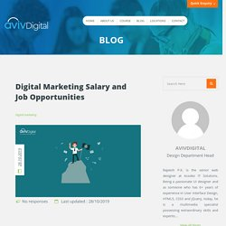 Complete Guide on Digital Marketing Salary And Job Opportunities