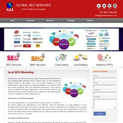 local seo marketing, local seo optimization