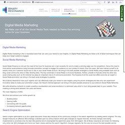 Digital Media Marketing in Chennai, Search Engine Optimization, Social Media Campaigns