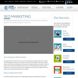 Outstanding SEO Marketing Service