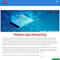 Mobile App Marketing Services - App Store Optimization