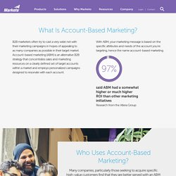 Account-Based Marketing - An Overview & Resources