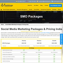 Social Media Marketing Packages, SMO Pricing & Plans India