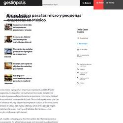 E-marketing para las micro y pequeñas empresas en México