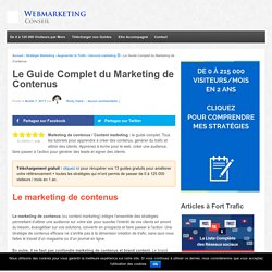 ▶ Marketing de Contenus : +300% de Performances en 1 Mois [Guide]
