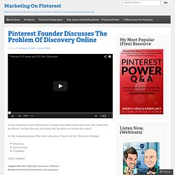 Marketing On Pinterest For Small Business Owners