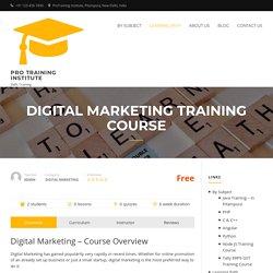 Digital Marketing Course in Pitampura, Delhi
